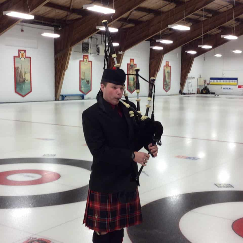 Jr curler as piper